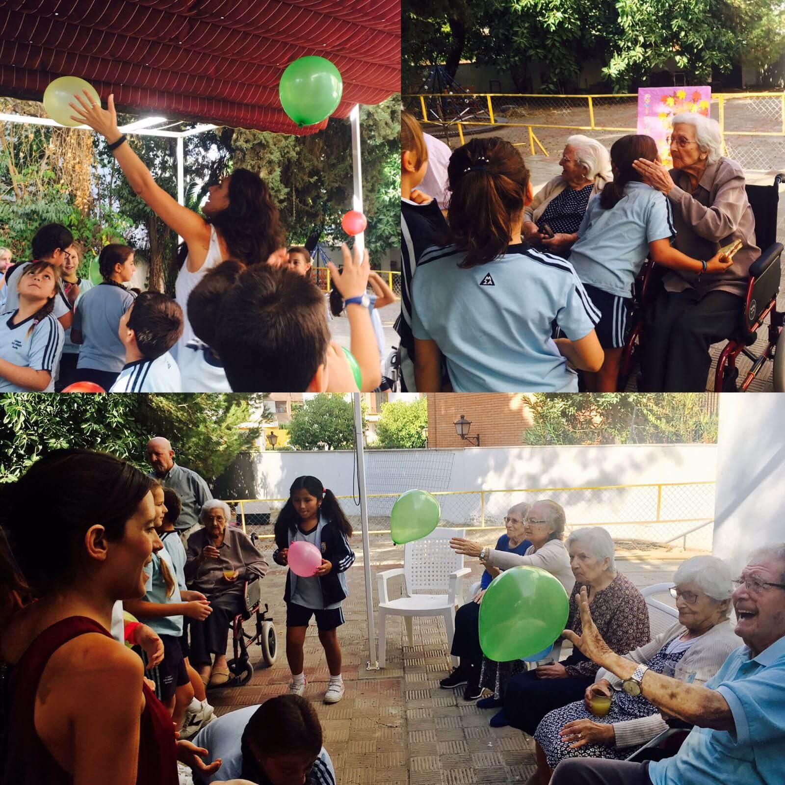 Actividades aire libre en la Residencia en Sevilla Aurora