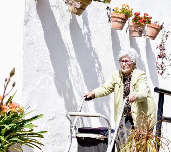 Accesibilidad en el asilo Aurora en Sevilla