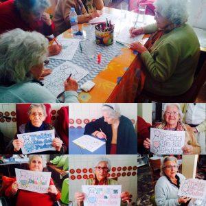 Actividades en la Residencia asilo Aurora en Sevilla