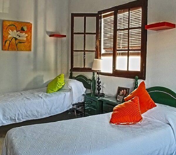 Habitaciones dobles Residencia Aurora para mayores en Sevilla
