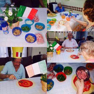 Actividades en la Residencia Aurora en Sevilla