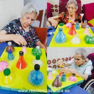 Método Montessori en la Residencia para mayores Aurora en Sevilla