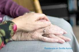 Amor tercera edad en la Residencia en Sevilla Aurora