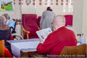 Beneficios de la lectura en la Residencia Aurora en Nervión Sevilla