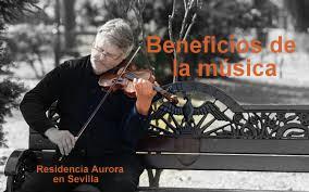 Beneficios de la  música en las personas mayores.